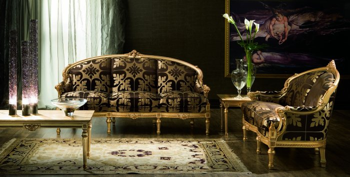 baroque sitting room eros barock wohnzimmer eros. Black Bedroom Furniture Sets. Home Design Ideas