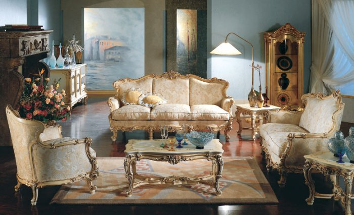 Baroque Sitting rooms
