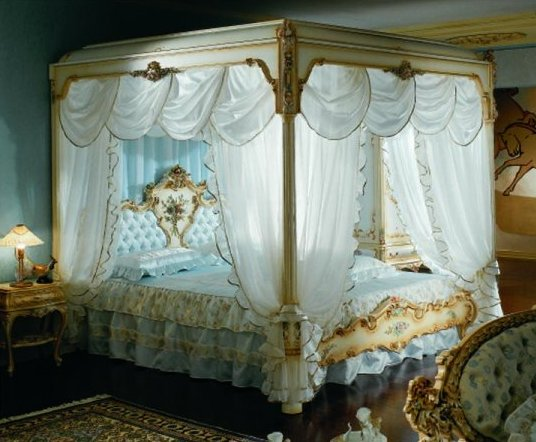 barockbett venere himmelbett baldaquin. Black Bedroom Furniture Sets. Home Design Ideas